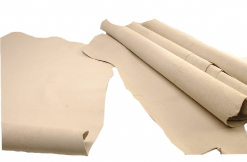 8-12sqft Vegetable Tanned Natural Suede Leather Hide Butt Splits Lining